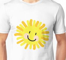 Sun Child Drawing Unisex T-Shirt