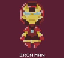Iron Man Pixels Tee by Astrotoast