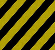 Yellow and Black Stripes  by Sam Lauder