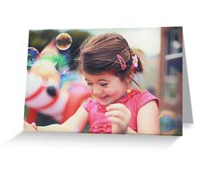 Bubble Time Greeting Card