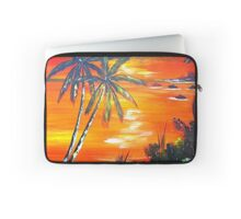 Coconut Palms  Sunset Laptop Sleeve