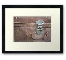 Iron Chest Framed Print