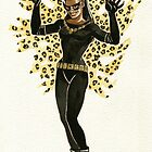 Eartha Kitt Catwoman Pin-Up by character undefined