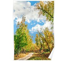 Rest beside the path Poster