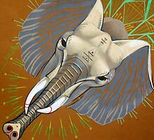 elephant totem by resonanteye