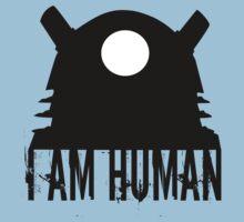 I am human - Doctor Who Kids Tee