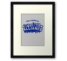 Team Alliance Framed Print