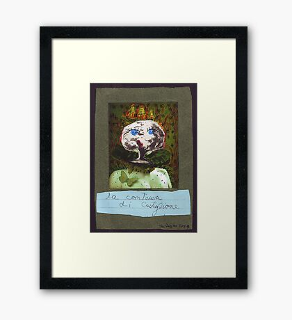 La Contessa di Castiglione Framed Print