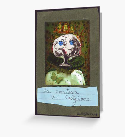 La Contessa di Castiglione Greeting Card