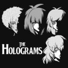 The holograms by coinbox tees