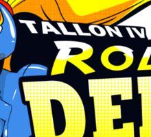 Tallon IV roller derby Sticker