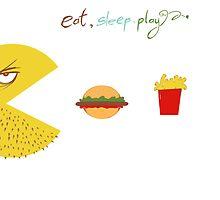 Eat, Sleep, Play by ahmedshaltout