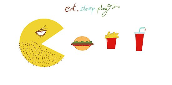Eat, Sleep, Play by ahmedshaltout