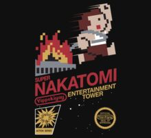 Super Nakatomi Tower by coinbox tees