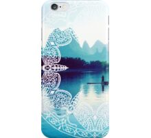 Lake in China iPhone Case/Skin