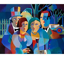 NIGHT ON THE TOWN Photographic Print