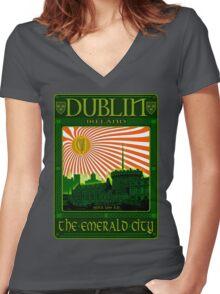 Dublin Women's Fitted V-Neck T-Shirt
