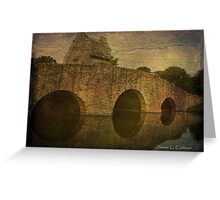 Bridge at Wynston M. Blount Cultural Park Greeting Card