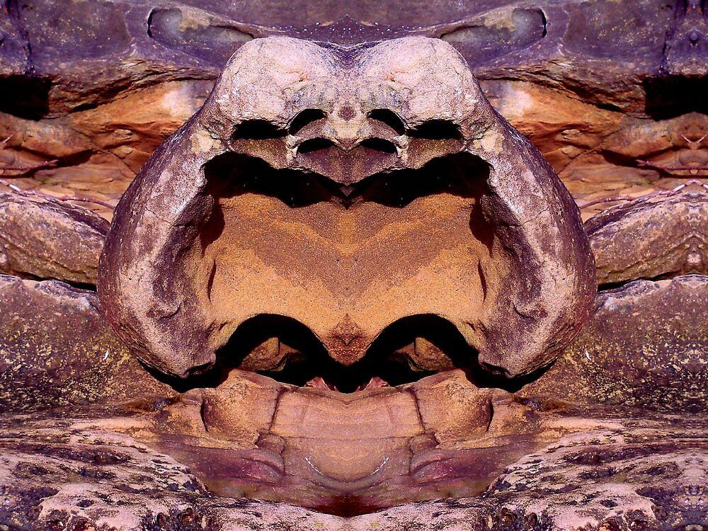 Gabriola Mystery Rock 1 by Max DeBeeson