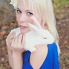 Alice and her rabbit by Debbie Lourens