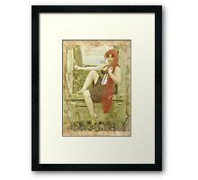 Rapunzel (I can save myself) Framed Print