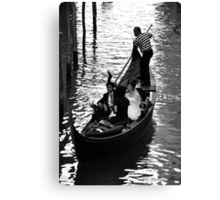 Water Carriage Canvas Print