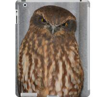 Let Sleeping Owls Roost. iPad Case/Skin