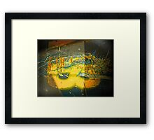 Mask of Thorns (B) Framed Print
