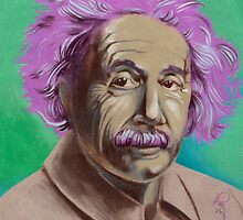 einstein portrait. by resonanteye