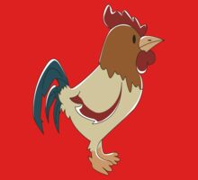Rooster One Piece - Short Sleeve
