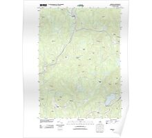 USGS TOPO Map New Hampshire NH Marlow 20120508 TM Poster