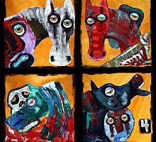 4 Horsemen by Laura Barbosa