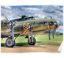 Sally B - A Flying Legend - HDR Poster