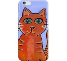 Friendly Cat iPhone Case/Skin