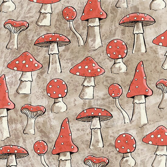 Spotty Fungi by Lisa Marie Robinson
