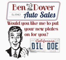 Ben Dover Dil Doe by Sarah  Eldred