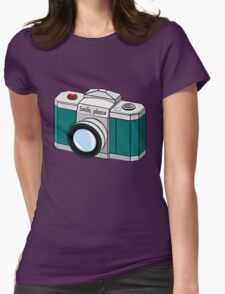 Smile, please! Womens Fitted T-Shirt