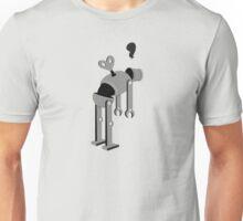 Run Down Robot Unisex T-Shirt