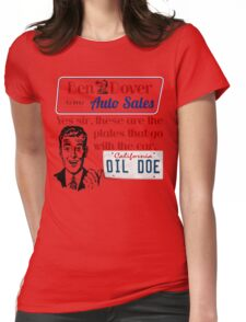 Ben Dover Dil Doe 2 Womens Fitted T-Shirt
