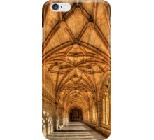Cloisters At The Monastery iPhone Case/Skin