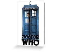 David Tennant Poster Greeting Card