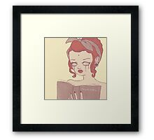 Journal Framed Print