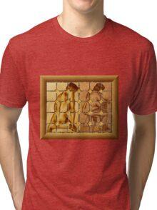 Tile Work Tri-blend T-Shirt
