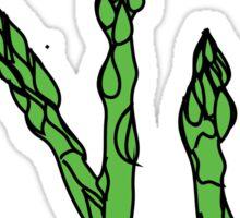 chomp. (asparagus)   Sticker