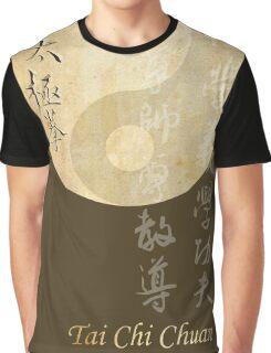 ying yang tai chi symbol Graphic T-Shirt