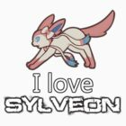 I love sylveon by caninesilver