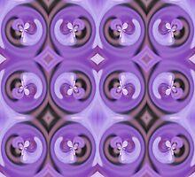 Purple Flowers by Vac1