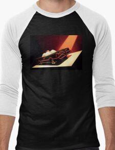 60s Lego Batmobile Men's Baseball ¾ T-Shirt