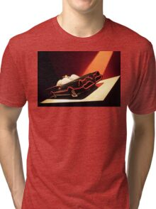 60s Lego Batmobile Tri-blend T-Shirt