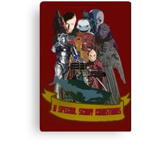 A special scary Christmas - Doctor Who Canvas Print
